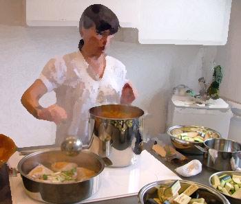 Démonstration de cuisson en Rhône-Alpes – Octobre 2020