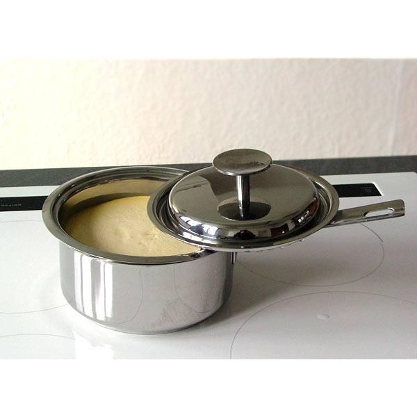 utilisation du Légumier Baumstal dans une casserole