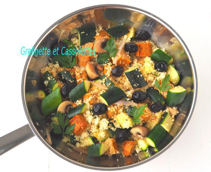 Couscous Vegan au Tofu et au Wok