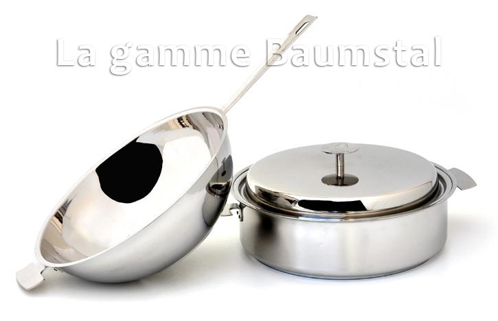 poele wok sauteuse inox