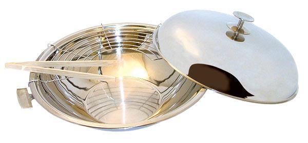 wok cataplana inox