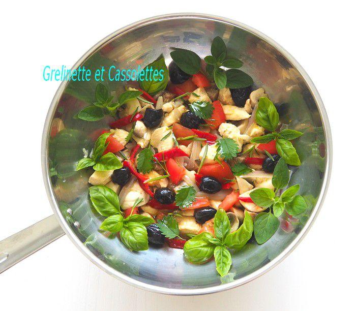 Wok de Poulet aux Petits Légumes