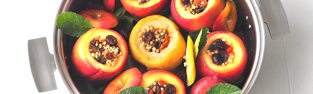 Pommes confites dans la Sautreuse Baumstal