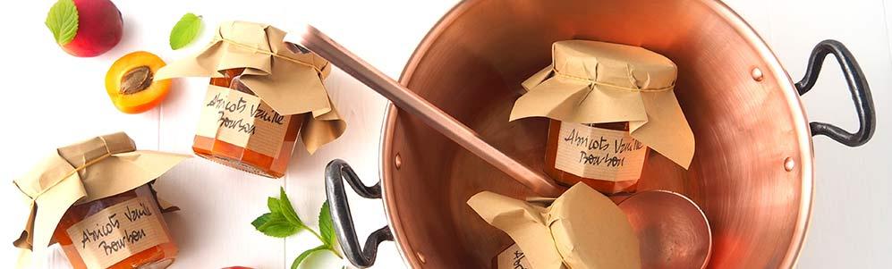Confiture d'abricots à la vanille Bourbon